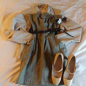 Small strapless mini dress